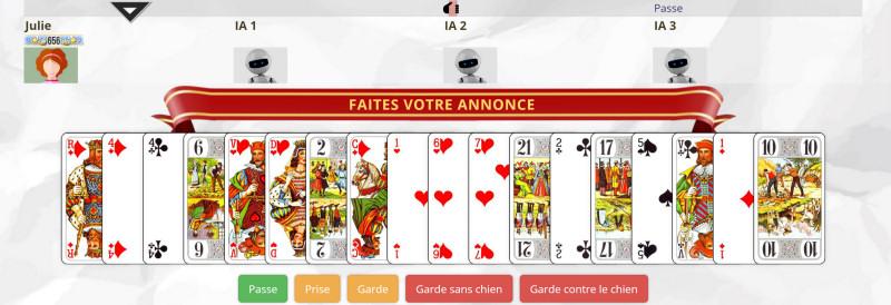 Jeu de tarot with jeux gratuits ligne - Jeux de cuisine gratuit de papa louis ...